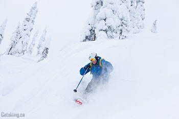 K3 Catskiing is open for the season