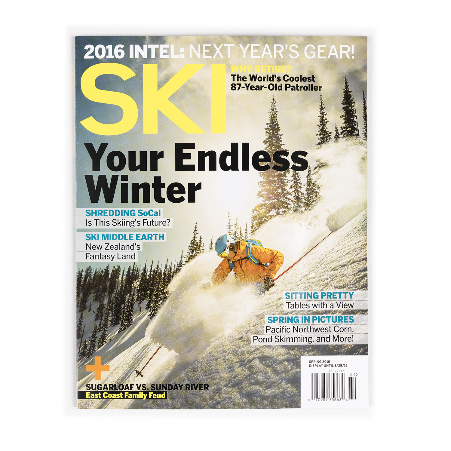 Valhalla Powdercats on the Cover of Ski Magazine!